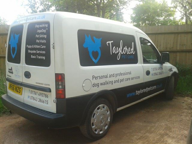 Taylored Pet Care's new van